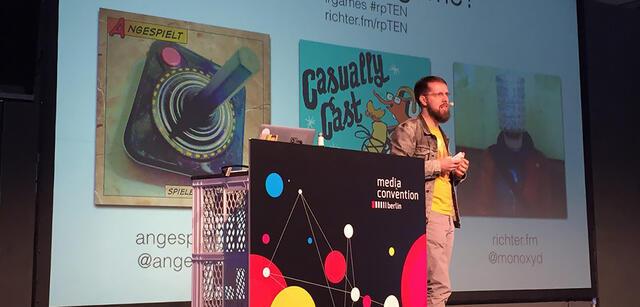 Markus Richter auf der re:publica 2016