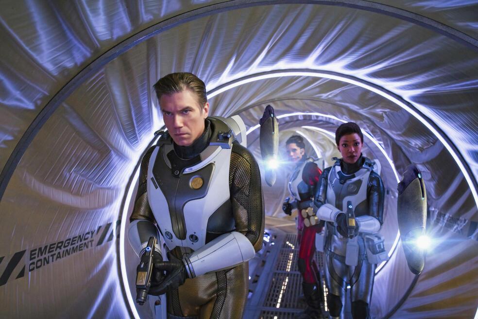 Star Trek: Discovery - Staffel 2, Star Trek: Discovery - Staffel 2 Episode 1 mit Anson Mount, Sonequa Martin-Green und Rachael Ancheril