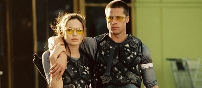 Angelina Jolie und Brad Pitt im Original