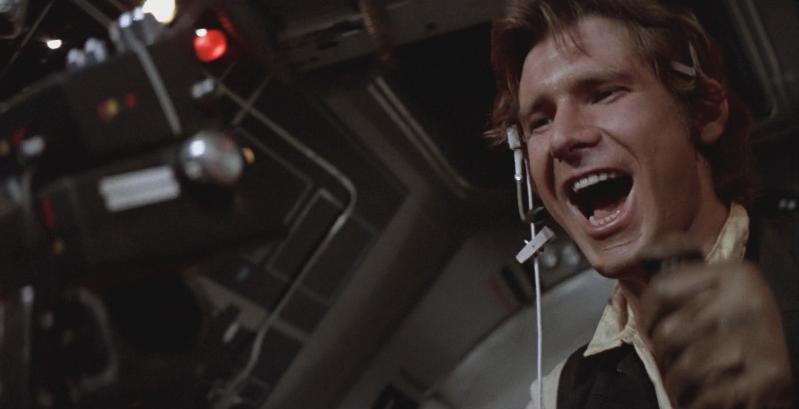 Krieg der Sterne mit Harrison Ford