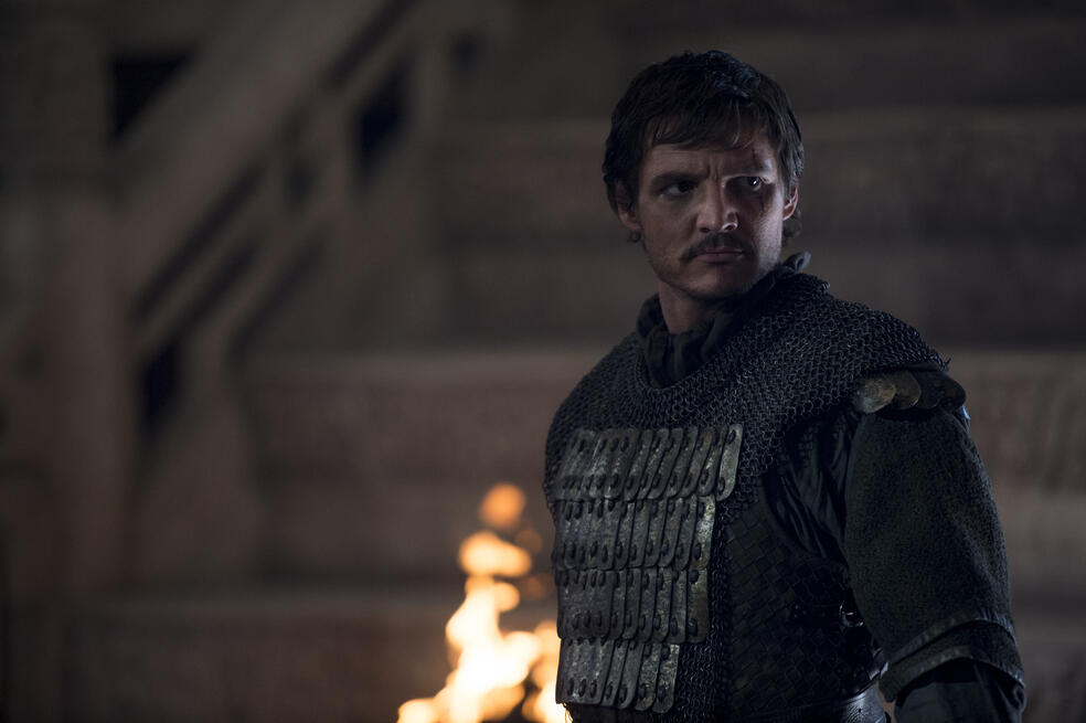 The Great Wall mit Pedro Pascal