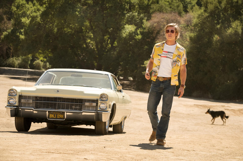 Once Upon a Time ... in Hollywood mit Brad Pitt