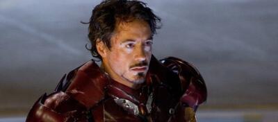 Robert Downey Jr als Iron Man