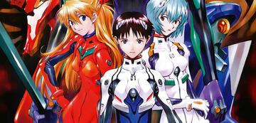 Asuka, Shinji und Rei