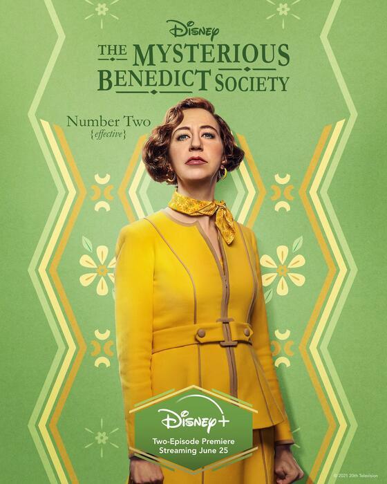 Die geheime Benedict-Gesellschaft, Die geheime Benedict-Gesellschaft - Staffel 1 mit Kristen Schaal