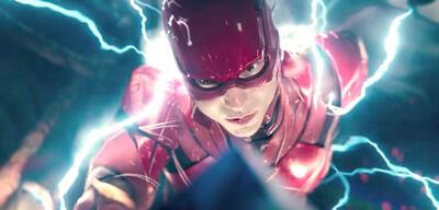 Ezra Miller als Barry Allen/The Flash in Justice League