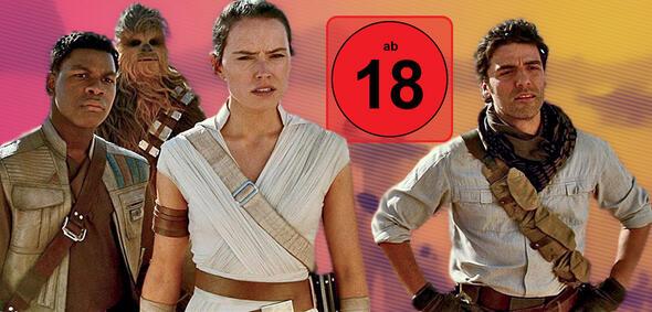 Bald auch in der FSK-18-Version: Star Wars - Der Aufstieg Skywalkers
