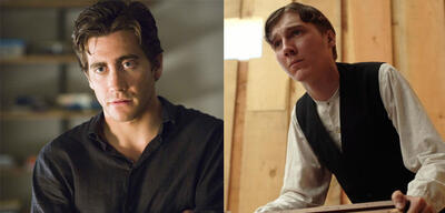 Jake Gyllenhaal in Zodiac - Die Spur des Killers /Paul Dano in There Will Be Blood