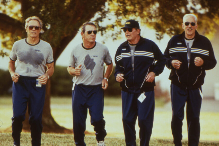 Space Cowboys mit Clint Eastwood, Tommy Lee Jones, Donald Sutherland und James Garner