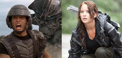 Starship Troopers und The Hunger Games
