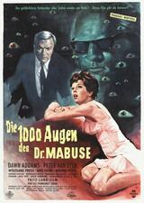 Die 1000 Augen des Dr. Mabuse - Poster