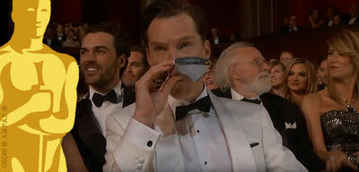 Benedict Cumberbatch bei den Oscars