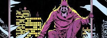 Rorschach ist in Watchmen einem Mörder auf der Spur.
