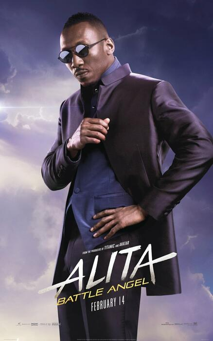 Alita: Battle Angel mit Mahershala Ali