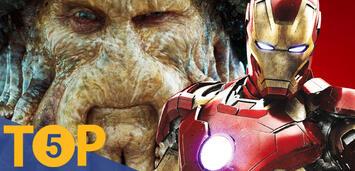 Bild zu:  Davy Jones und Iron Man