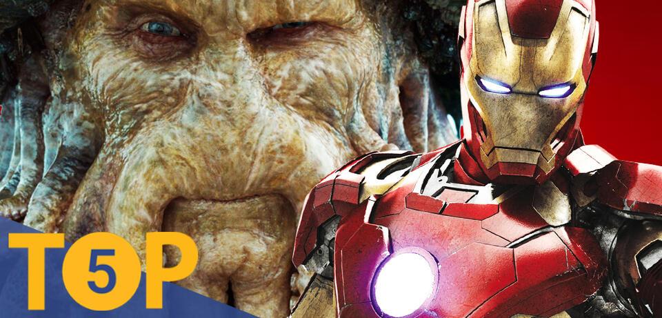 Davy Jones und Iron Man