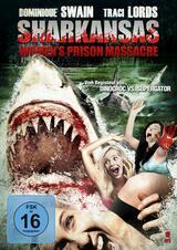 Sharkansas Women's Prison Massacre - Poster