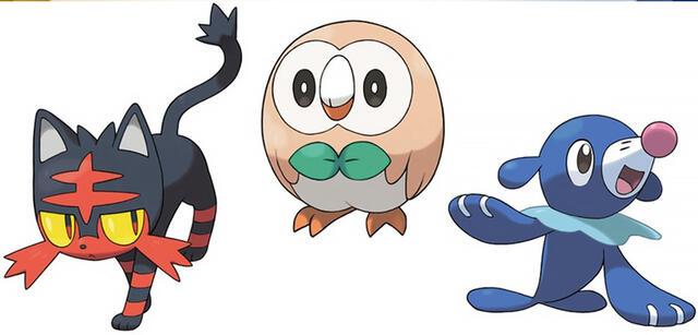 Pokémon Sun Moon Starter Spaltet Die Fan Gemeinde