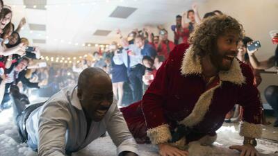 Office christmas party mit t j miller und courtney b vance