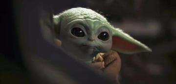 Trauriger Baby Yoda in The Mandalorian