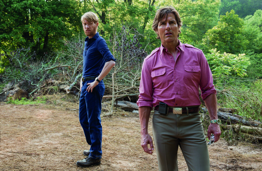 Barry Seal - Only in America mit Tom Cruise und Domhnall Gleeson