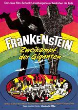 Godzilla - Frankenstein: Zweikampf der Giganten - Poster