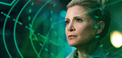Carrie Fisher in Star Wars Episode 7: Das Erwachen der Macht