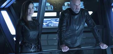 Georgiou und Leland in Star Trek: Discovery