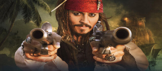 Johnny Depp als Captain Sparrow