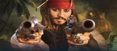 Johnny Depp als Captain Sparrow