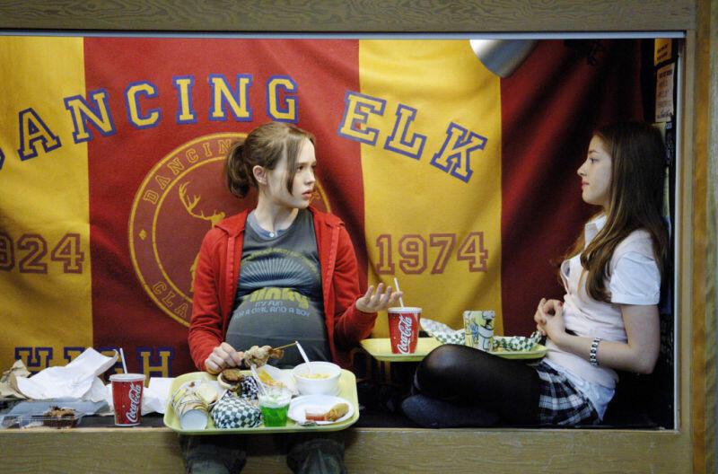Juno mit Ellen Page