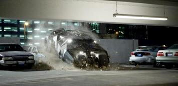 Bild zu:  Das Batmobil in The Dark Knight
