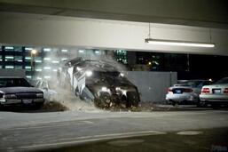 Bild zu:  Das Batmobil in The Dark Knight