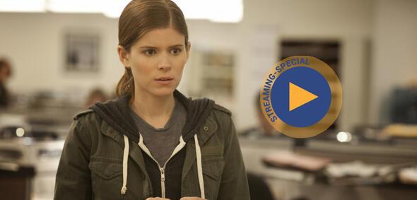 Kate Mara als Journalistin Zoe Barnes in der Netflix-Serie House of Cards