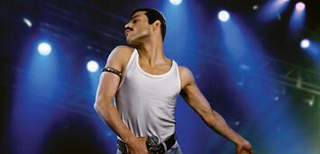 Bild zu:  Rami Malek als Freddie Mercury
