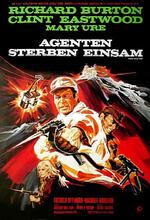 Agenten sterben einsam Poster