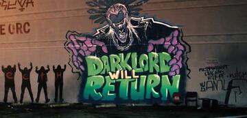 Eines der Highlights in Bright: Die Graffitis