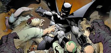 Batman gegen diverse DC-Schurken