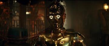 Anthony Daniels als C-3PO in Star Wars 9: Der Aufstieg Skywalkers
