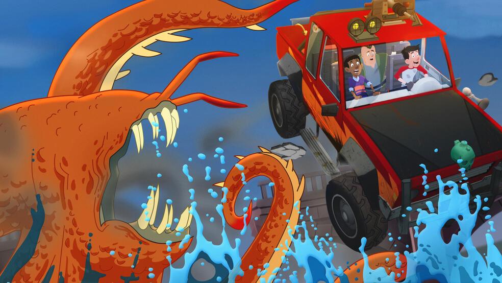 Jack, der Monsterschreck, Jack, der Monsterschreck - Staffel 1