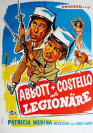 Abbott und Costello als Legionäre