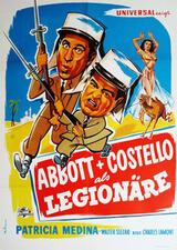 Abbott und Costello als Legionäre - Poster