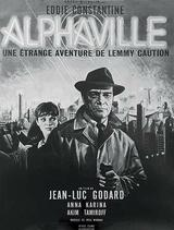 Alphaville - Lemmy Caution gegen Alpha 60 - Poster