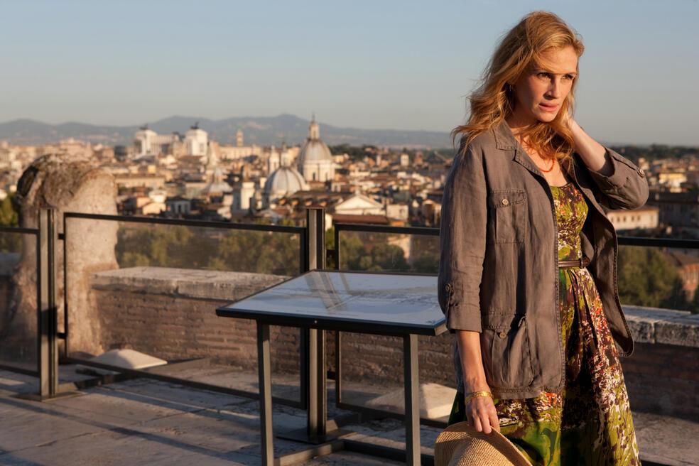 Elizabeth Gilbert (JULIA ROBERTS) sucht in Rom nach etwas Ablenkung.