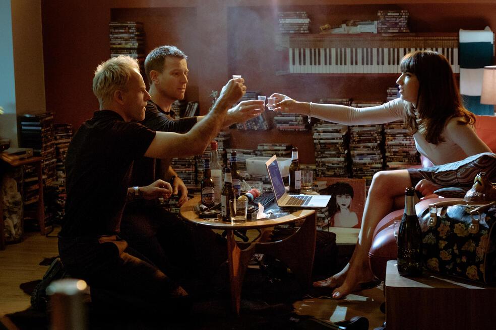 T2 Trainspotting mit Ewan McGregor, Jonny Lee Miller und Anjela Nedyalkova