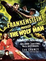 Frankenstein trifft den Wolfsmenschen - Poster