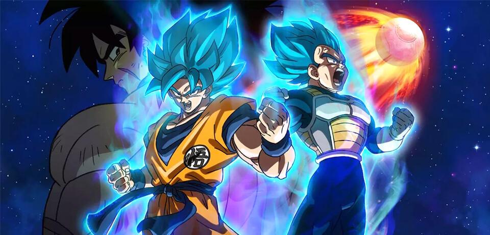 Son-Goku als Super-Saiyajin Blue