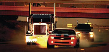 Automobiler Patriotismus: Die Autobots stehen vor allem auf US-Modelle