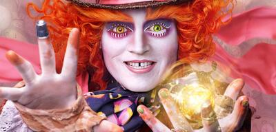 Immer noch gruselig: Johnny Depp als der verrückte Hutmacher