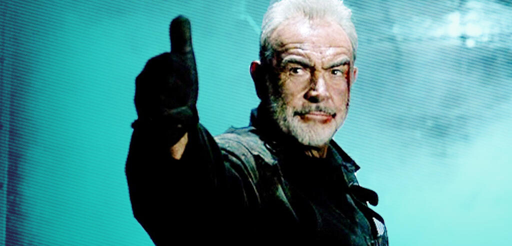Sean Connery in The Rock